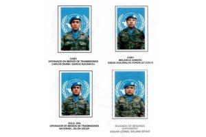 Cuatro soldados guatemaltecos fueron heridos en el Congo, donde integran la misión de estabilización que dirige la Organización de las Naciones Unidas. (Foto Prensa Libre: Ejército) (Pie de foto e imagen desde portal www.prensalibre.com)