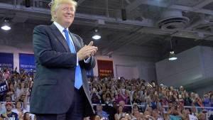 Trump espanta a algunos republicanos como Fernández.  (Imagen desde portal www.clarin.com)