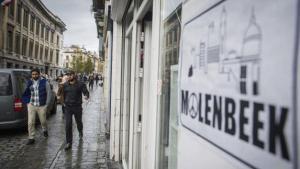 El barrio de Molenbeek en Bruselas. / Stephanie Lecocq (Efe) (Pie de foto e imagen desde portal www.elcomercio.es)