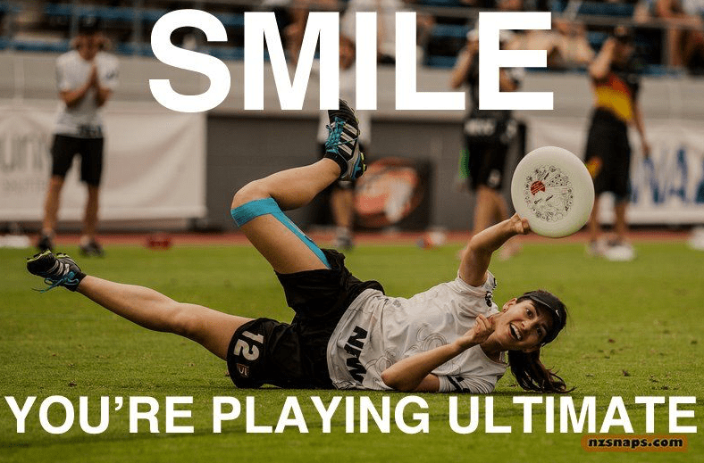 Smile You're Playing Ultimate