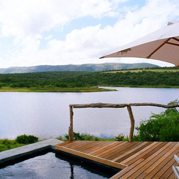 Pumba Private Game Reserve Chalet Plunge Pool