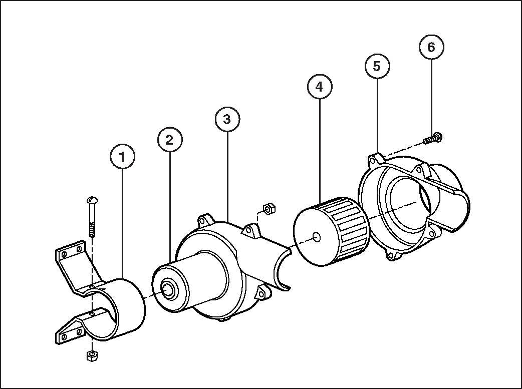 Parts For Jabsco Pump Model