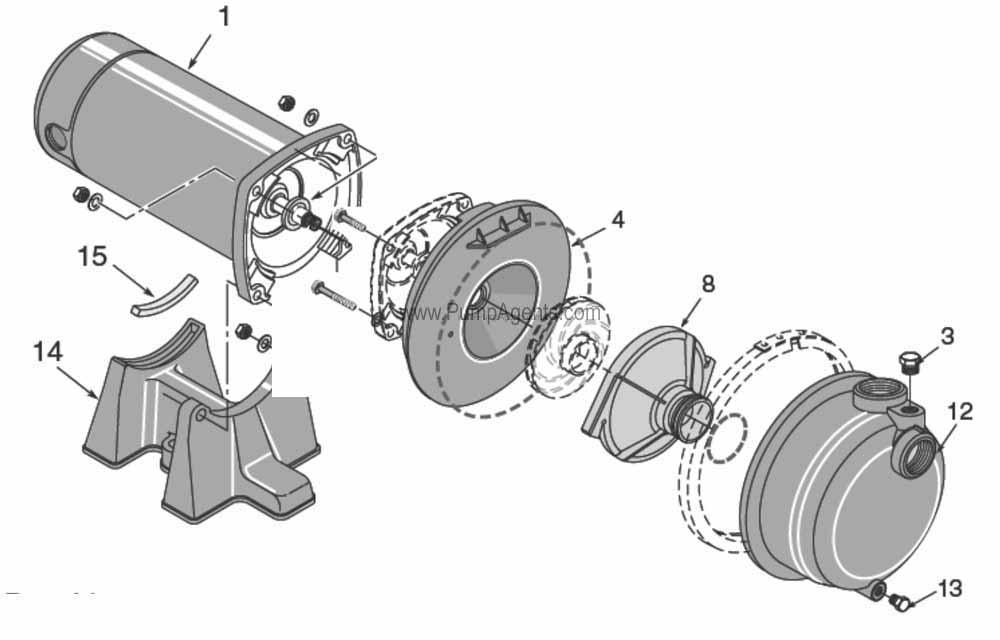 Parts For Flotec Pump Model Fp 08