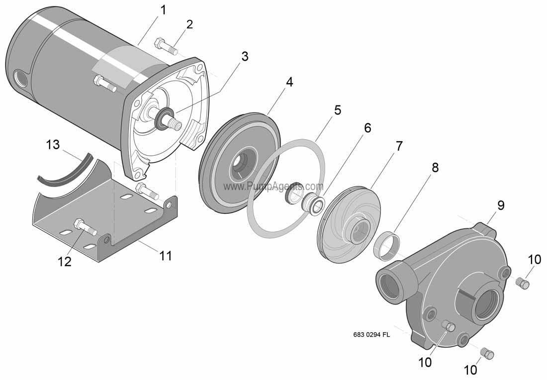 Parts For Flotec Pump Model Fp 00