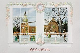 Bruton Parish Church Colonial Williamsburg Christmas Cards