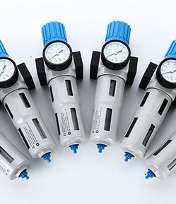 air filter, regulator