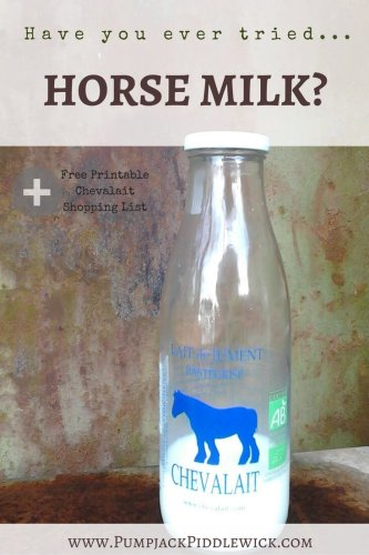 Have you ever tried Horse Milk or French Chevalait @PumpjackPiddlewick