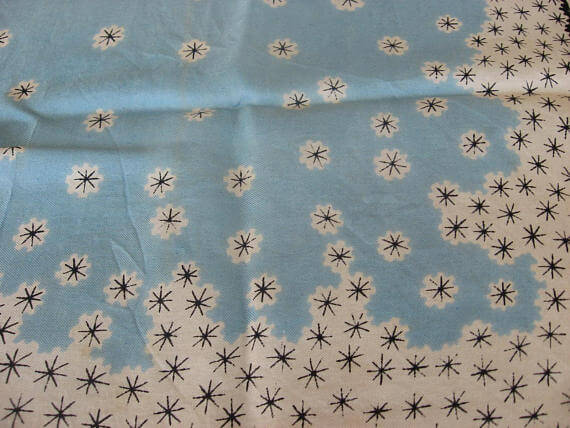 1950s snowflake scarf_Sold at PumpjackPiddlewick
