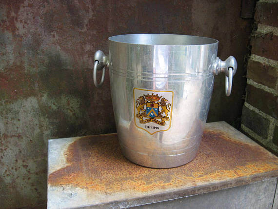 Reims champagne bucket_Sold at PumpjackPiddlewick