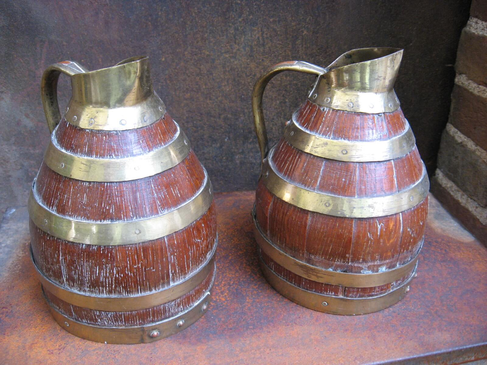 Cooper barrel jugs brass fittings at PumpjackPiddlewick
