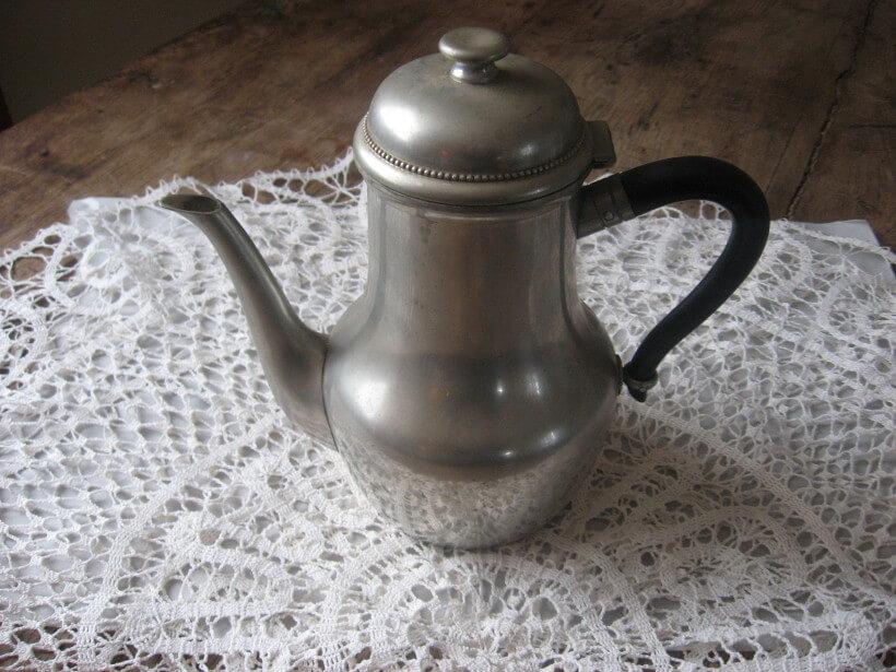 Etain de paris coffee pot Sold at PumpjackPiddlewick