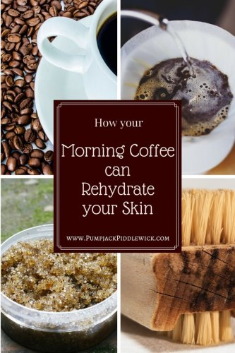 How your morning coffee can rehydrate your skin blog post at PumpjackPiddlewick