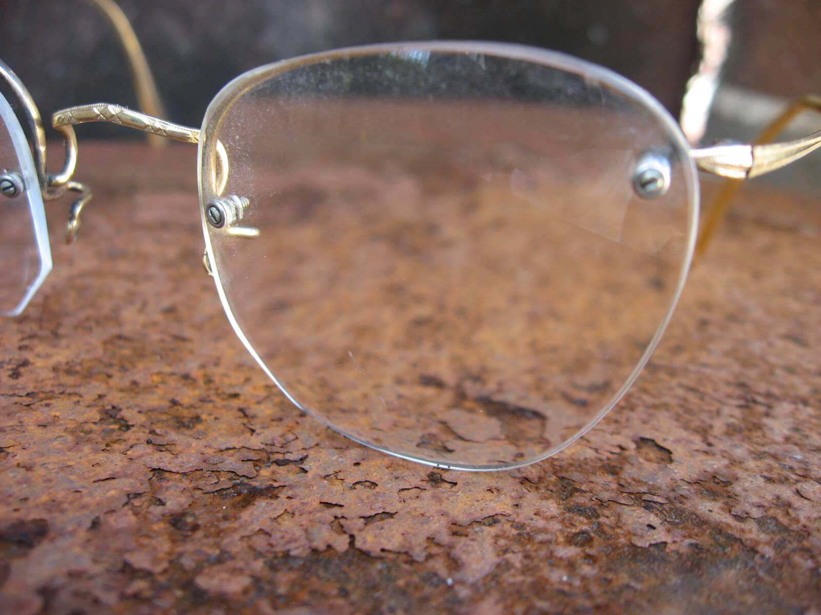 1930s art deco HCO 20 gold filled rimless eyeglasses_B_PumpjackPiddlewick