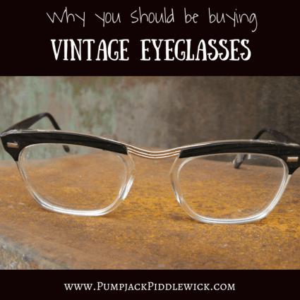 Vintage Eyeglasses at PumpjackPiddlewick