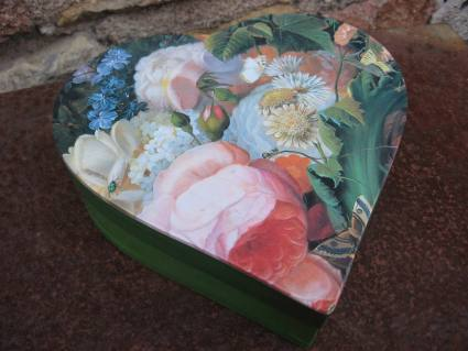 Garden flowers still life box at PumpjackPiddlewick