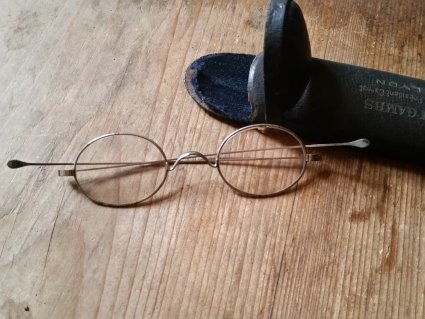 antique reading glasses of the 1800s