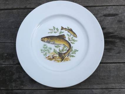 French Fisherman's fishing plates