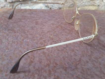French designer vintage eyeglasses by Lanvin from PumpjackPiddlewick