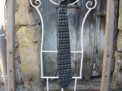 Fun silk necktie gift for him at PumpjackPiddlewick