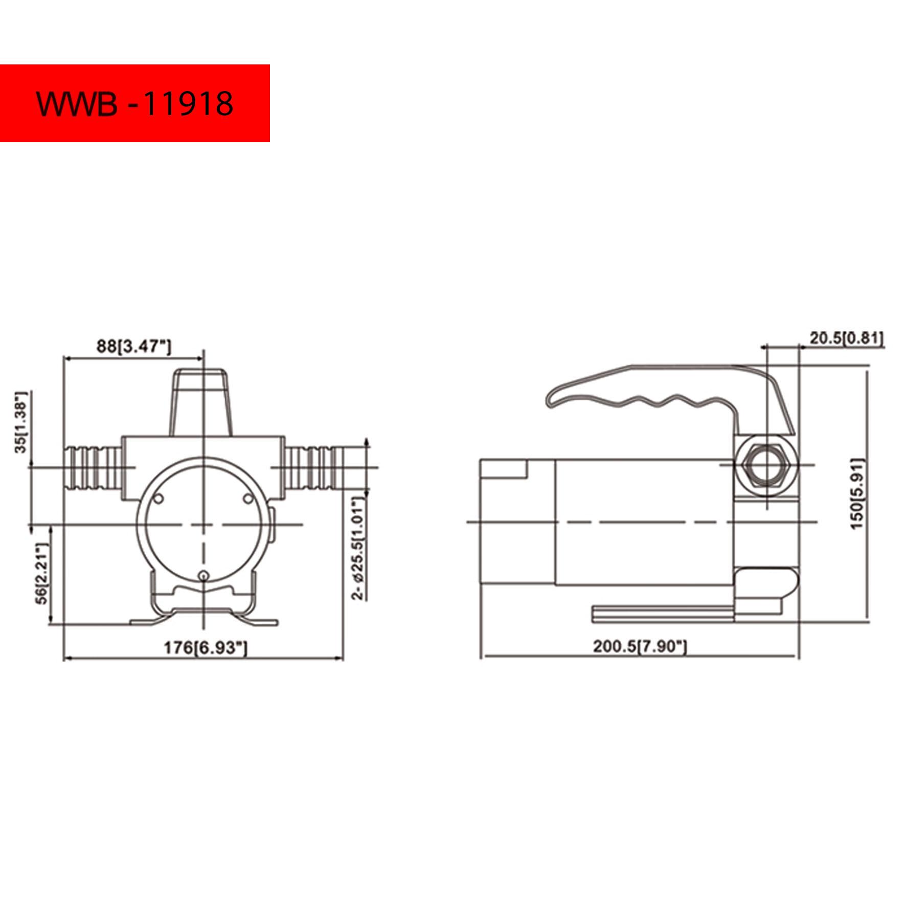 790 Gphsel Oil Fuel Transfer Pump