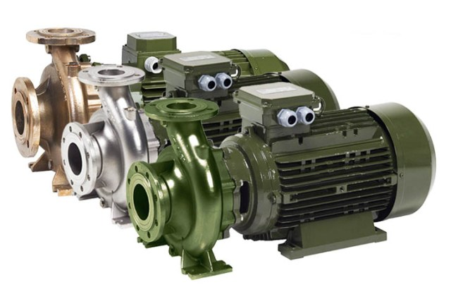 SAER IR series End-suction Centrifugal Pumps