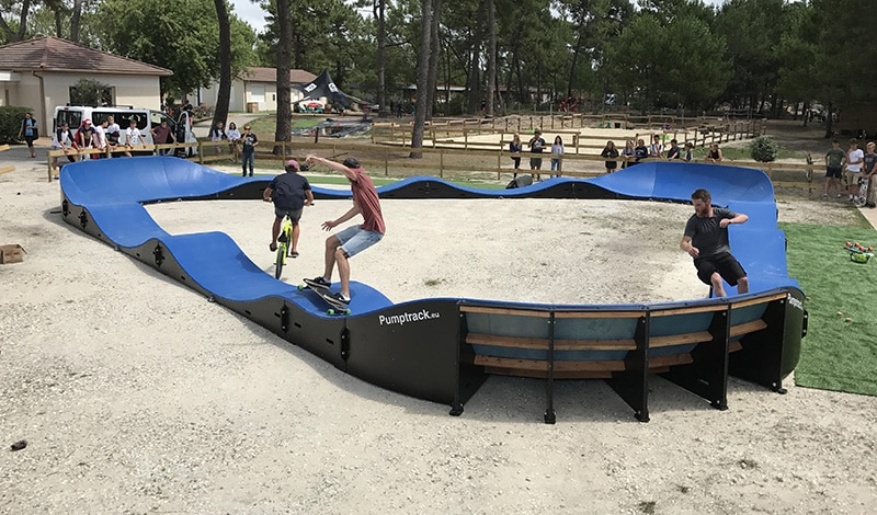 ucpa, montalivet, surf camp, pumptrack