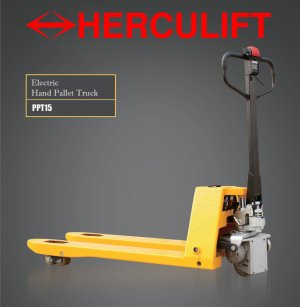 Compact Semi Electric Pallet Truck - PPT15