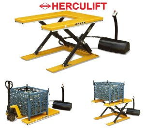 """U"" Low Lift Table - HU series"