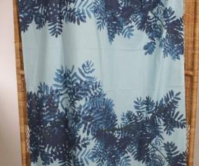 Marimekko Erja Hirvi Fabric Curtain Pihapuu Punavuoren Patina