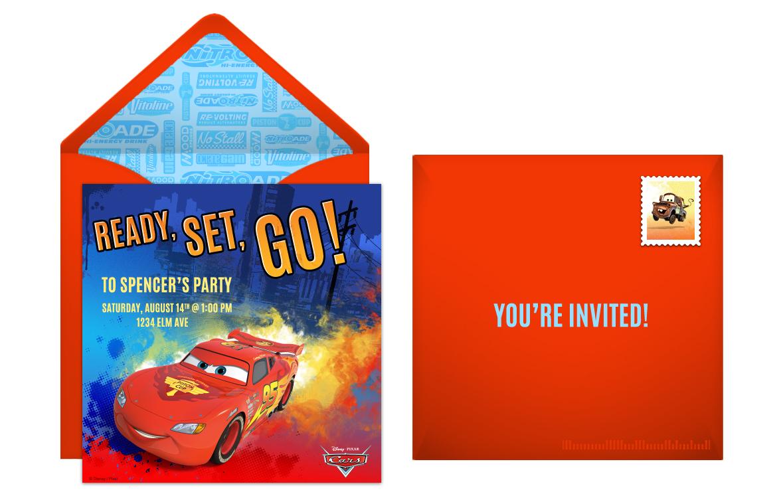 Plan A Speedy Cars Birthday Party