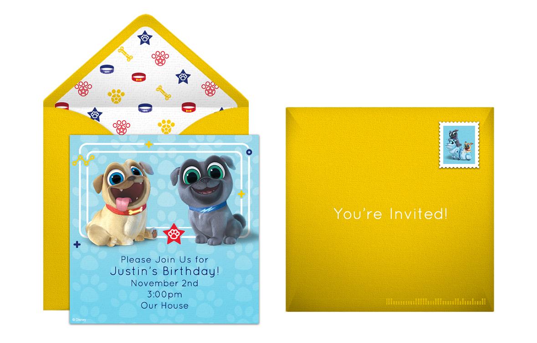Plan A Fun Loving Puppy Dog Pals Birthday Party