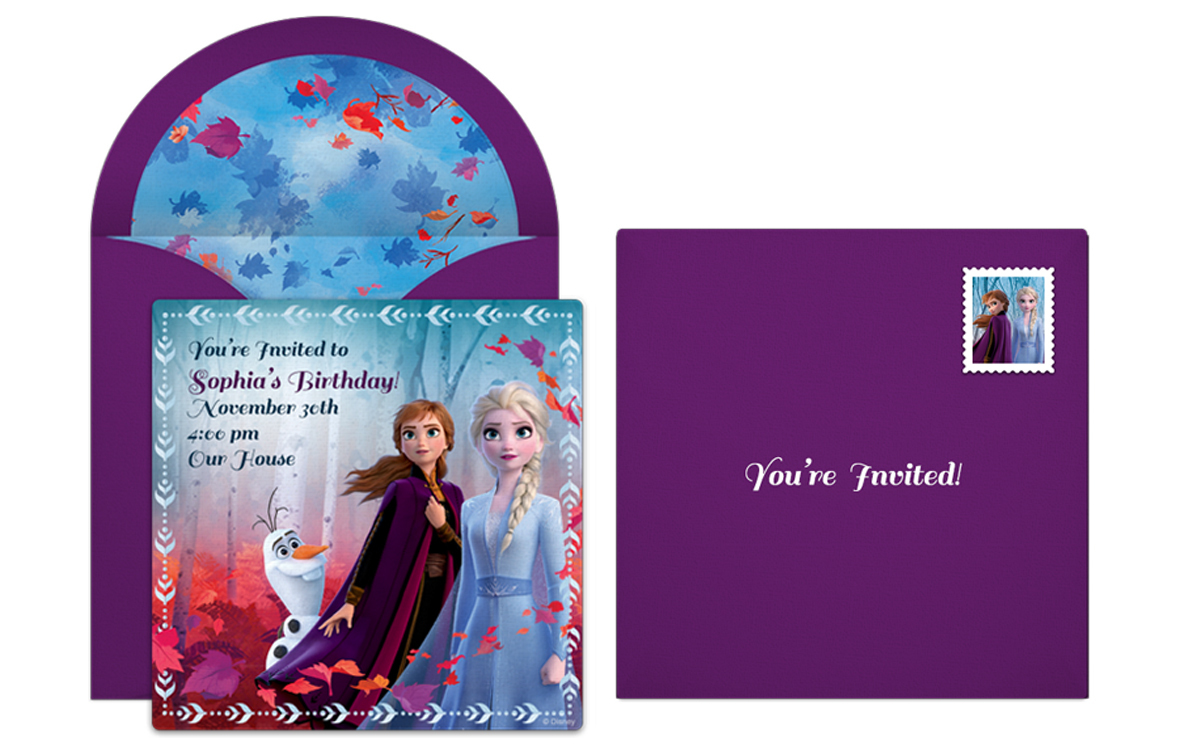 plan a whimsical frozen birthday party