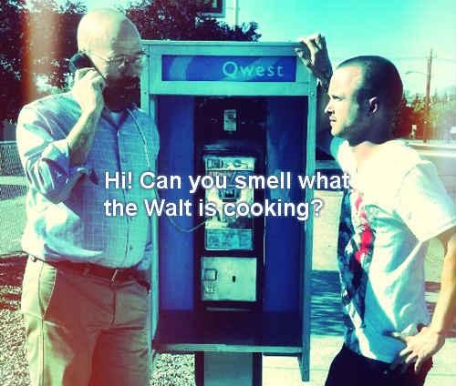 Tweets of Relevancy: Hello? Is this Heinsenberg? #BreakingBadness