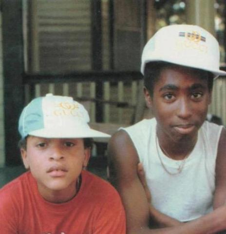 A Photo of Dr. Dre and Tupac When They Were Kids