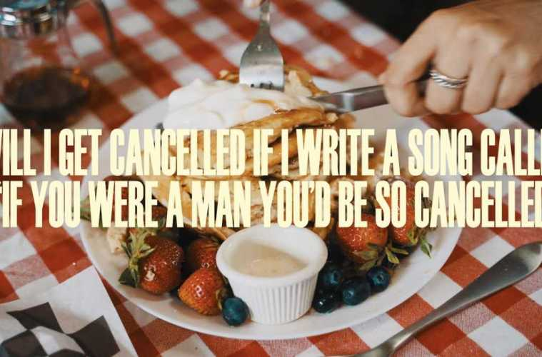 """will i get cancelled if i write a song called, """"if you were a man you'd be so cancelled"""" (Official)"""