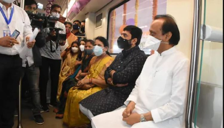 pune-metro-first-trial-run-expansion-of-metro-in-pune-will-soon-hold-a-big-event-inside-the-metro-statement-of-ajit-pawar-during-the-metro-trial