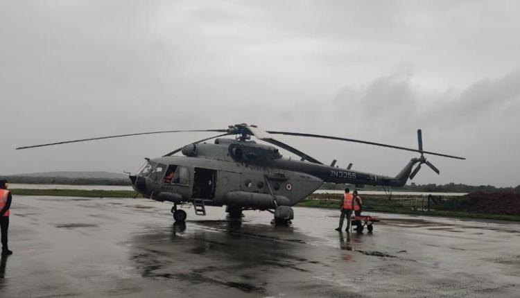 chiplun-flood-two-iaf-helicopters-deployed-in-chiplun-flood-relief-operation