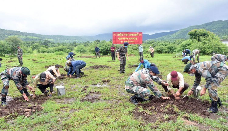 nda carries out tree plantation drive