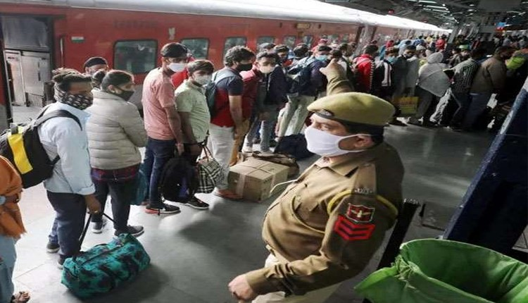 Face Mask Fine | 501 railway passengers had to pay fine for not wearing face masks