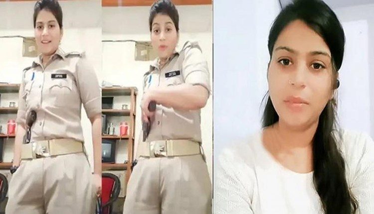 UP Police News | woman-police-constable-priyanka-mishra-resignation-accepted-instagram-reels-revolver-video