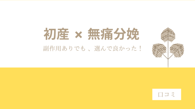 アイキャッチ_初産×無痛分娩