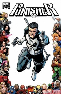 The Punisher Vol 7 #8 70th Anniversary