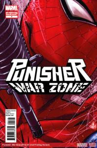 Punisher War Zone Vol 3 #1 2nd Print