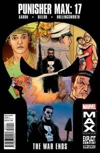 Punisher MAX #17 2nd Print