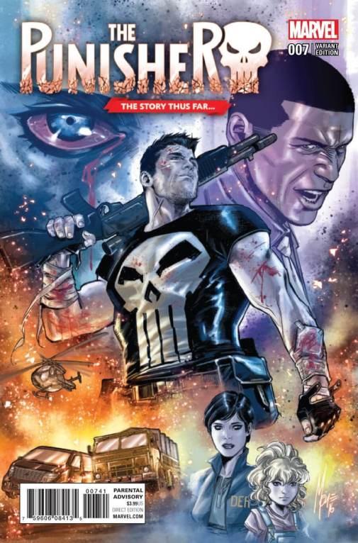 Punisher Vol 10 #7 Checcheto Variant