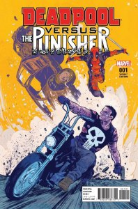 Deadpool vs. Punisher 1b 1 Walsh Variant