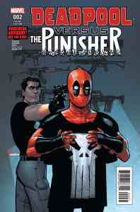Deadpool vs. Punisher 2c Chaykin Variant