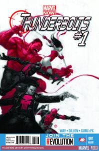 Thunderbolts vol 2 #1 2nd Print