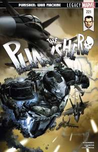 The Punisher Vol 1 #221