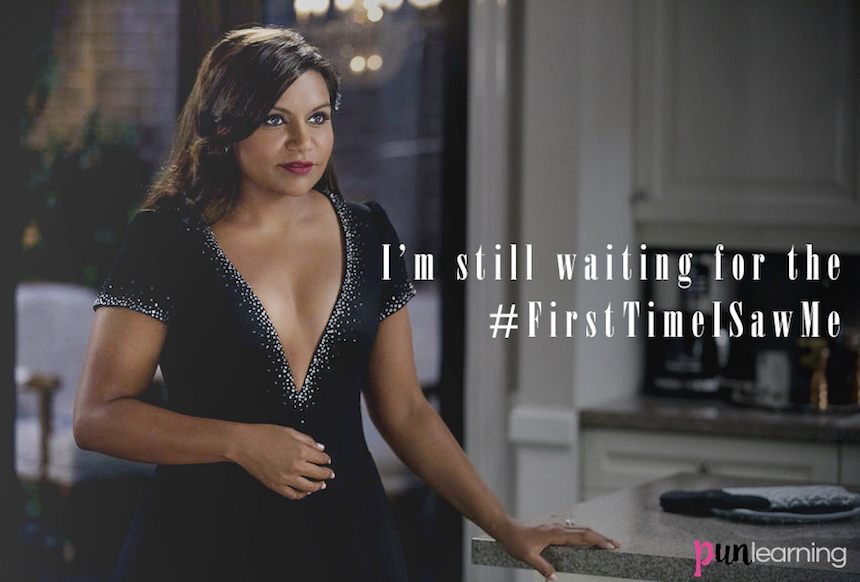 Mindy Lahiri - #FirstTimeISawMe Indian American Woman - The First Time I Saw Me Hasn't Happened Yet